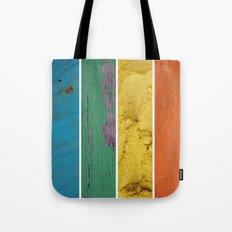 texture rainbow Tote Bag