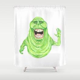 Slimer Shower Curtain