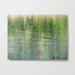 Verdant Sea Metal Print