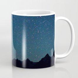 Milky Way Over the Tetons Coffee Mug