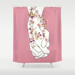 Never Let Me Go Shower Curtain