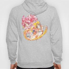 Super Sailor Moon & Chibi Moon (edit 1/B) Hoody