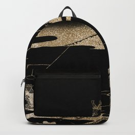 Hokusai's Temple Illustration Remix Backpack
