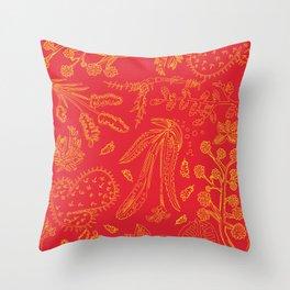 Flora Pattern Throw Pillow