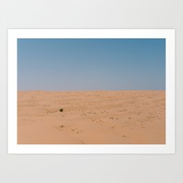 Desert in Oman #2 Art Print