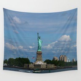Lady Liberty Wall Tapestry