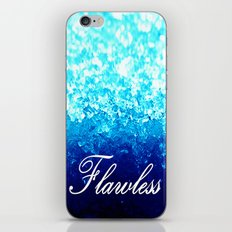 FLAWLeSS Turquoise Crystals iPhone & iPod Skin