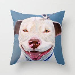 Pit and Mouse Throw Pillow