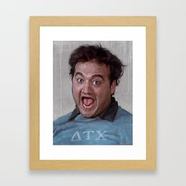 Food Fight - Animal House Framed Art Print