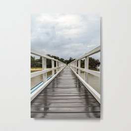 Hat Head Bridge 2 Metal Print