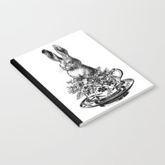 Rabbit in a Teacup | Black and White Notebook