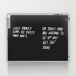 Good Things Laptop & iPad Skin