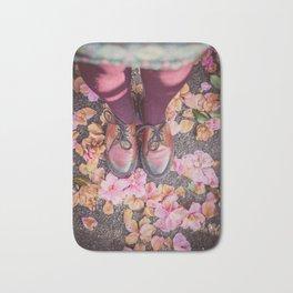 Vintage Pinks #2 Bath Mat