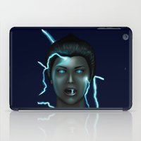 lightning iPad Cases featuring Lightning by Egberto Fuentes