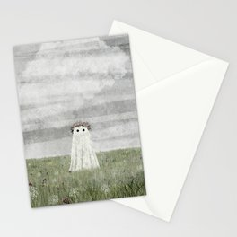 There's A Ghost in the Summer Meadow Stationery Cards