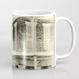 St. Ann & Decatur B&W Coffee Mug