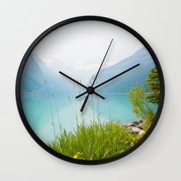 Beauty of Lake Louise Wall Clock