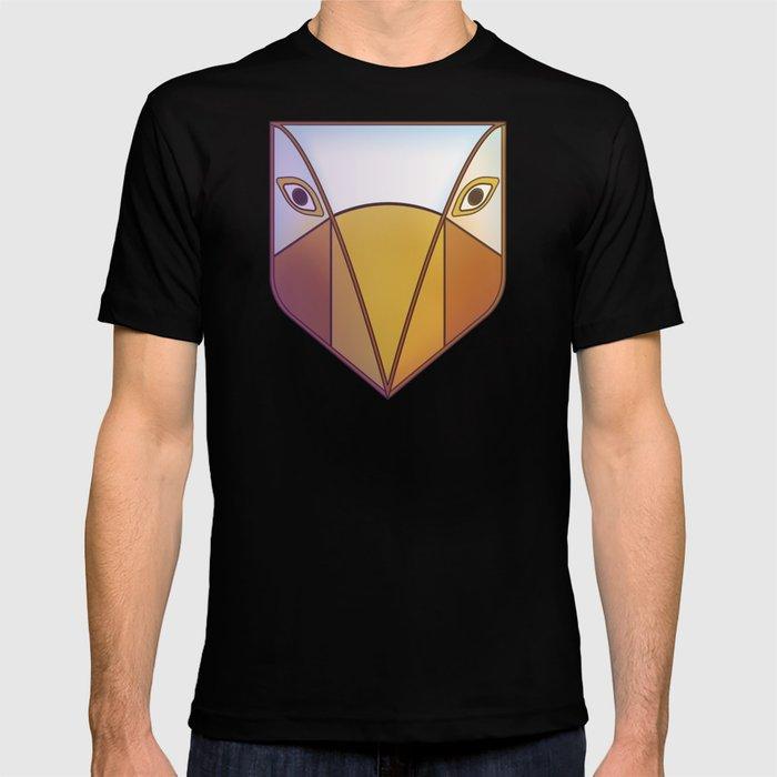Bird tribal mask T-shirt