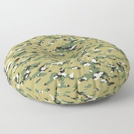 Camouflage: Woodland IV Floor Pillow