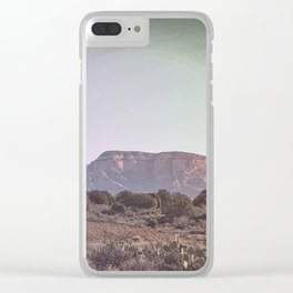 The Magic Mountain Clear iPhone Case
