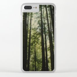 In the Pines Clear iPhone Case