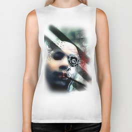 Abstraction, Distraction Biker Tank