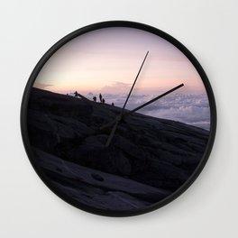 Kinabalu Dawn Wall Clock
