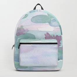 Monet Lily pads Backpack