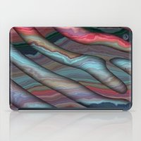 agate iPad Cases featuring Agate by RingWaveArt