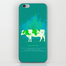 mosscow iPhone Skin