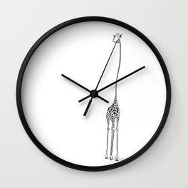 Stylized Giraffe / Jirafa Estilizada Wall Clock
