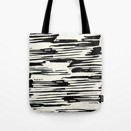 Rough Brush on Ivory Tote Bag