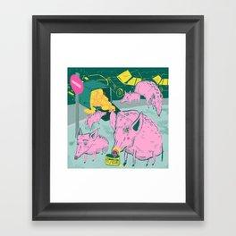 Pigggies Framed Art Print