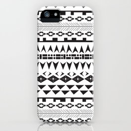 Abigail Print iPhone Case