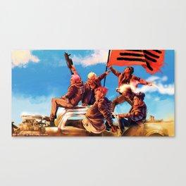 BiGBANG meets Mad Max Canvas Print