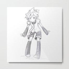 Vocaloid Len  Metal Print