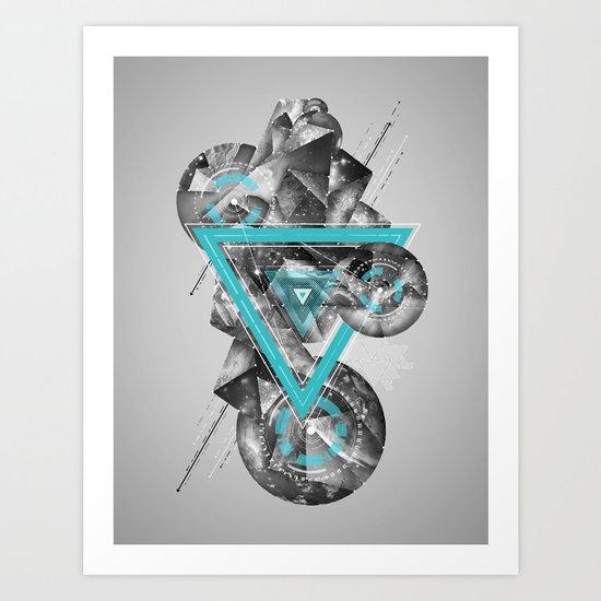 ∆V∆ Art Print