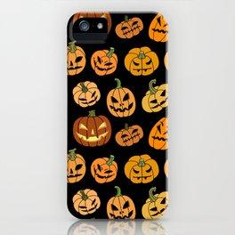 Jack o' Lantern iPhone Case