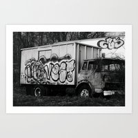 truck Art Prints featuring Truck by N. Negron Photography