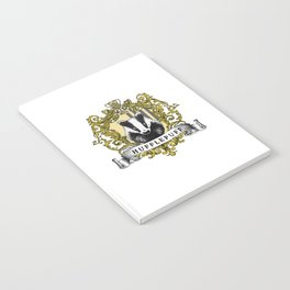 Hufflepuff Color Crest Notebook