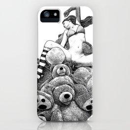 asc 606 - La récolte du miel (The vixen and the bears) iPhone Case