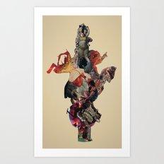 Totem (for the soul of America) Art Print