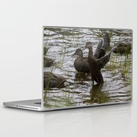 duck Laptop & iPad Skins featuring Duck by Isabelle Savard-Filteau