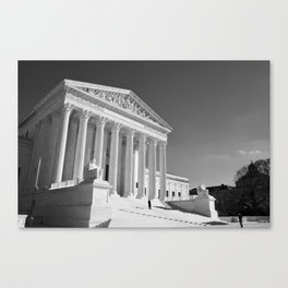 US Supreme Court Canvas Print