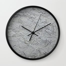 Concrete background Wall Clock