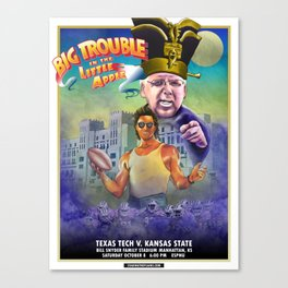 Big Trouble in the Little Apple - TTU vs KSU 10.8.16 Canvas Print