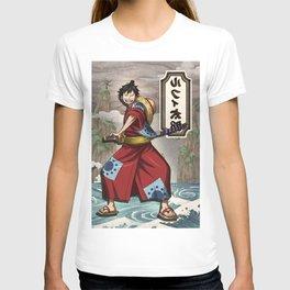 Lufy wano - one piece T-shirt