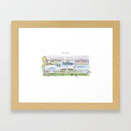 Debarkader Framed Art Print