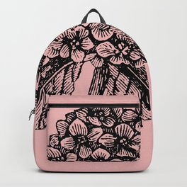 Pink Hydrangea Backpack