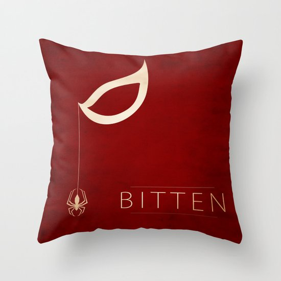 Bitten Throw Pillow